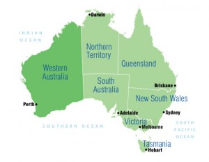 Perth In Australia Map.Perth Australia Map